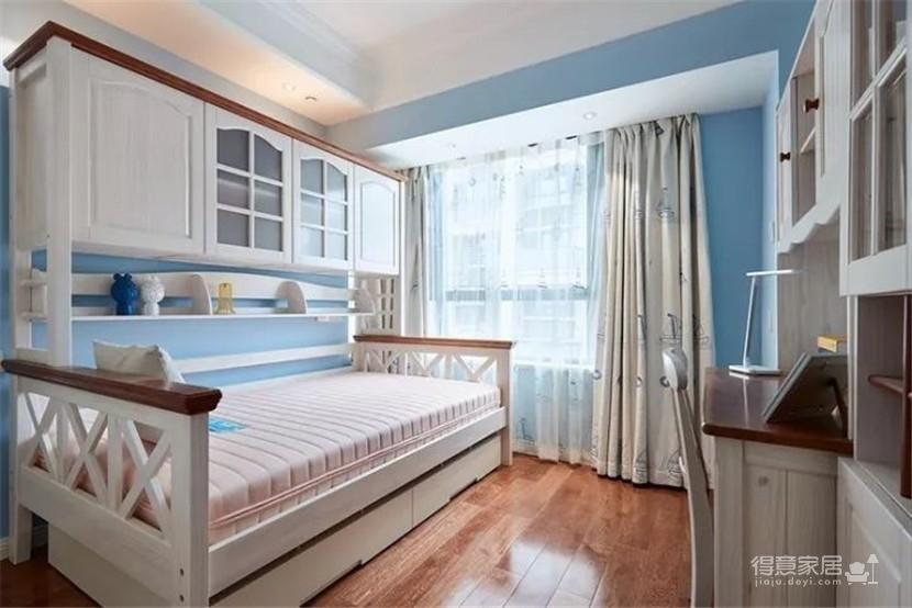 89㎡现代美式三居室