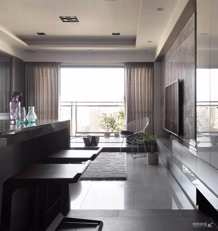 美式风格二室一厅
