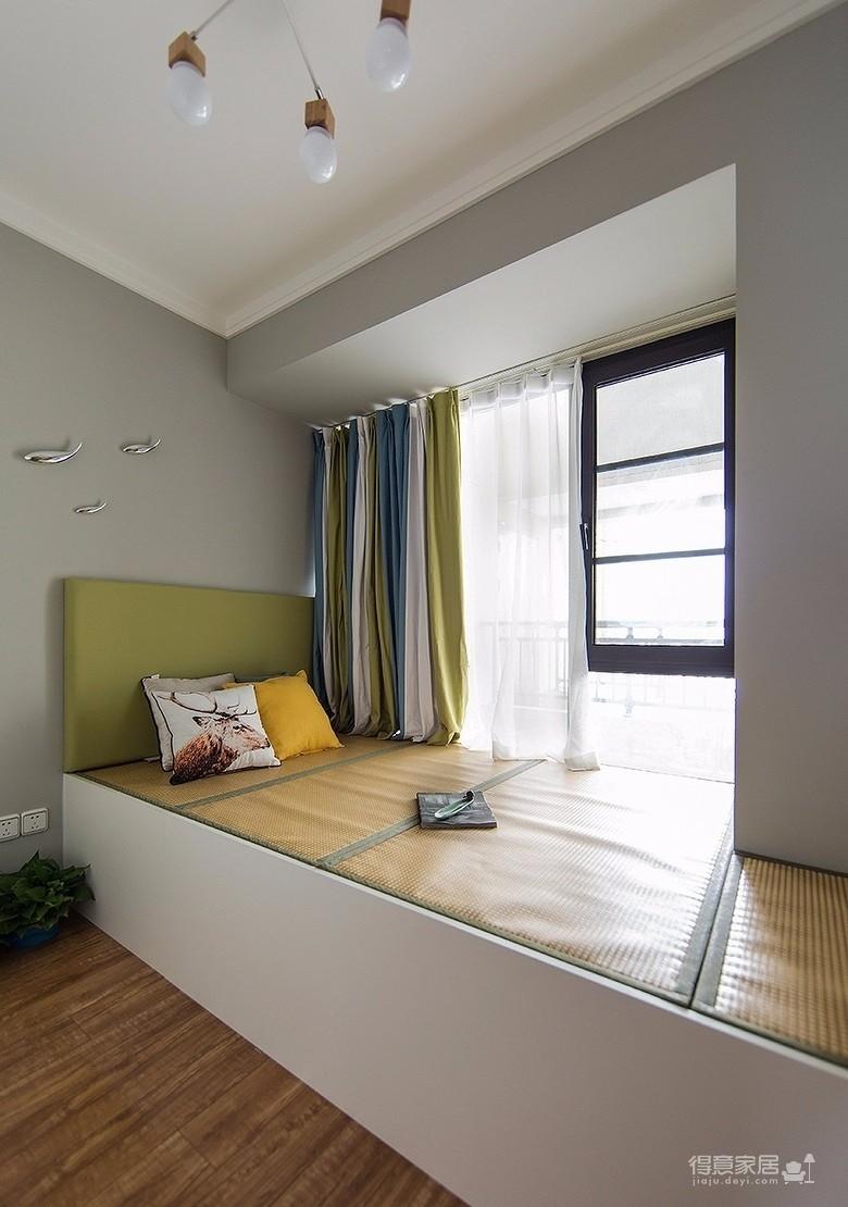 两室一厅北欧轻奢半包房图_2