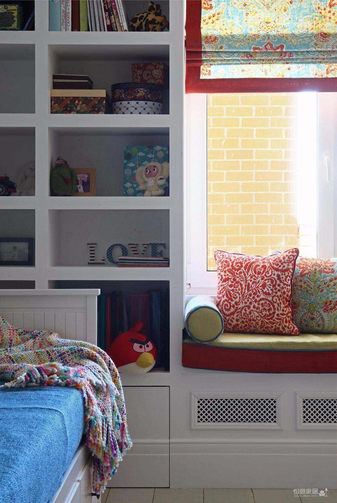 两室一厅串色混搭风图_5