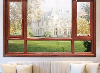 P1380(平框)钛镁铝合金气密窗纱一体系列