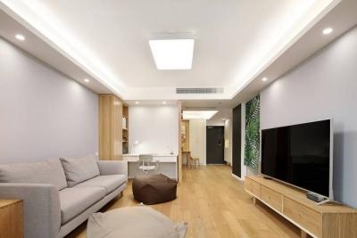 三居室原木日式风格
