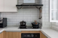 89㎡简约北欧风格图_5 _厨房