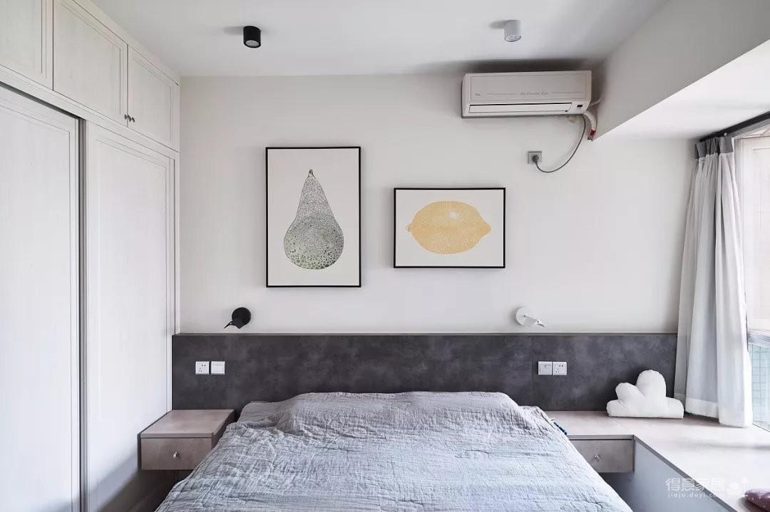 北欧风格装修案例图_3 _卧室