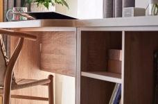 北欧风格装修案例图_8 _书房