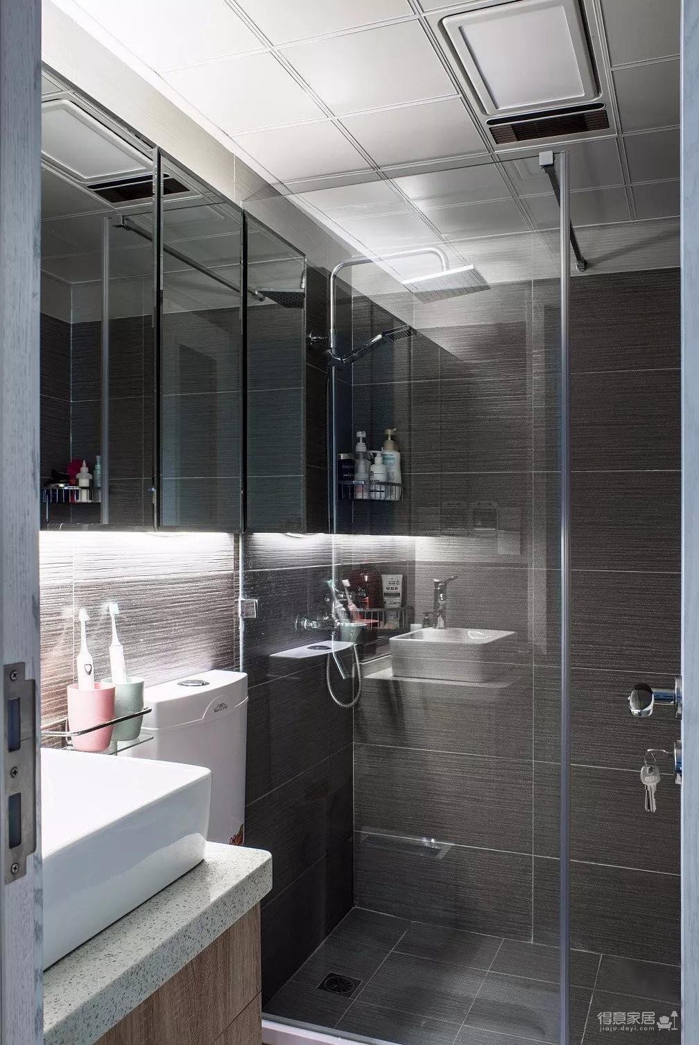 北欧风格装修案例图_7 _卫浴间