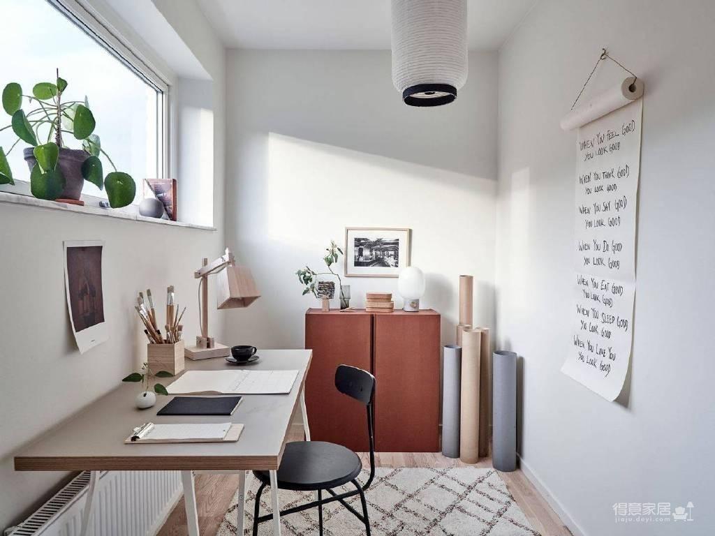 温馨公寓装修设计图_9 _书房