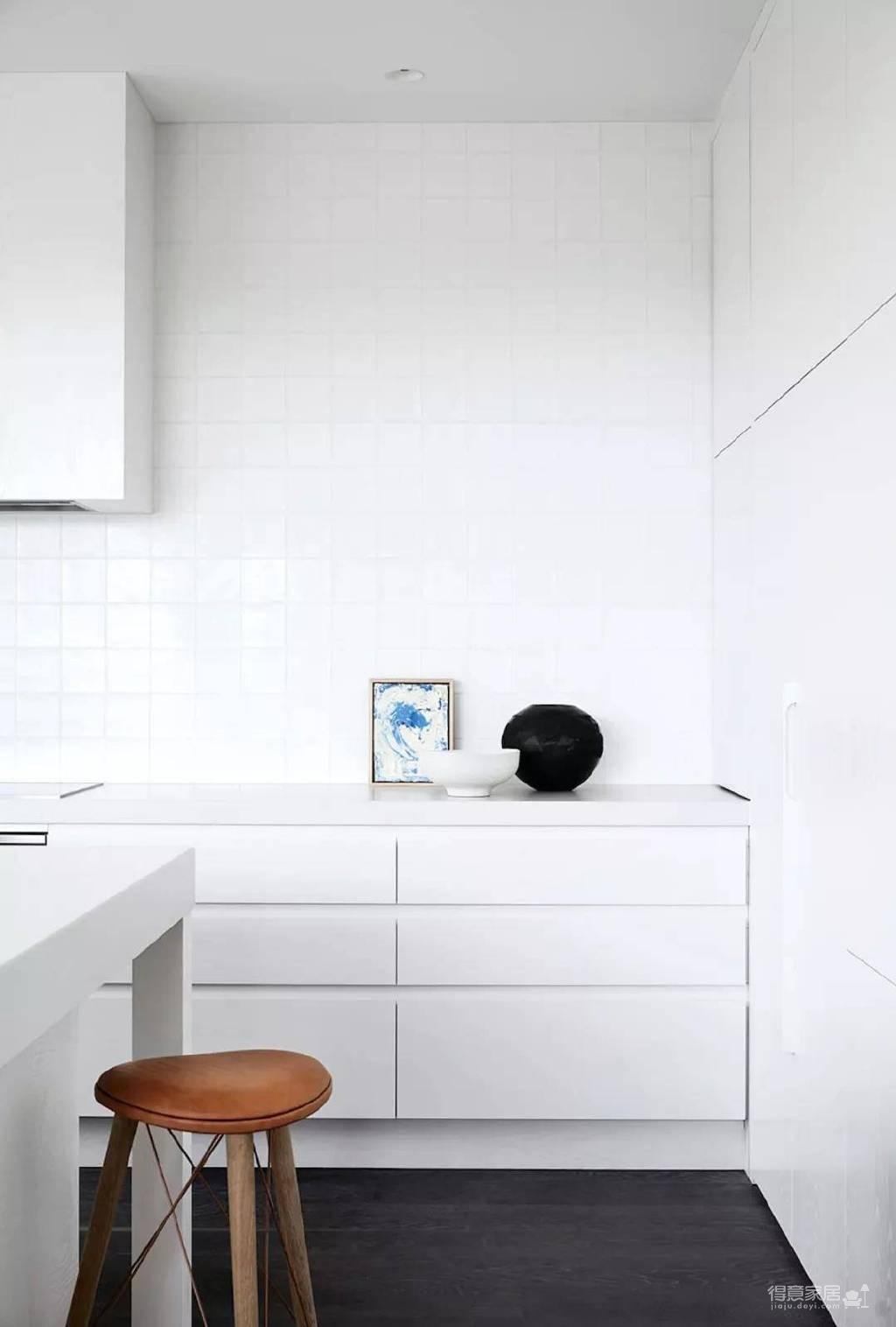 极简都市风公寓设计图_6 _厨房