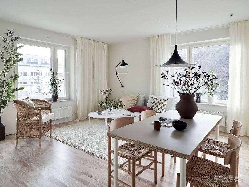 温馨公寓装修设计图_5 _餐厅