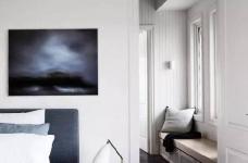 极简都市风公寓设计图_4 _卧室