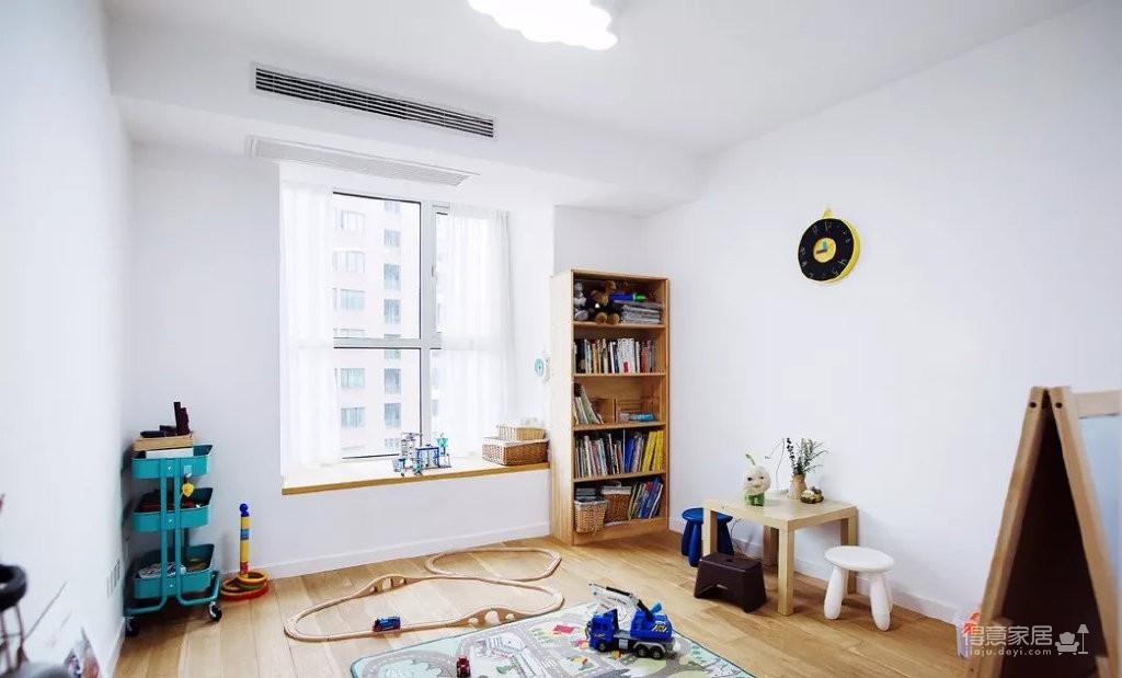 101㎡简约现代三居室图_9 _儿童房