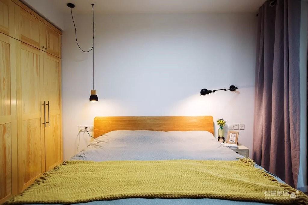 101㎡简约现代三居室