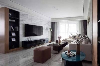 三居室现代轻奢风格