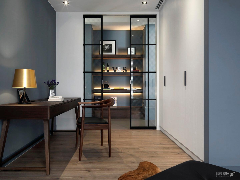 两室一厅现代简约风图_12