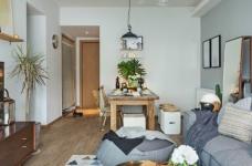 北欧风   与猫咪共住暖暖的新家图_2 _客厅