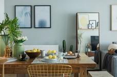 北欧风   与猫咪共住暖暖的新家图_4 _餐厅
