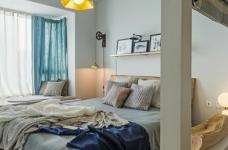北欧风   与猫咪共住暖暖的新家图_3 _卧室