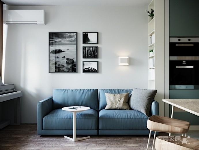 50平活力现代小公寓。图_3