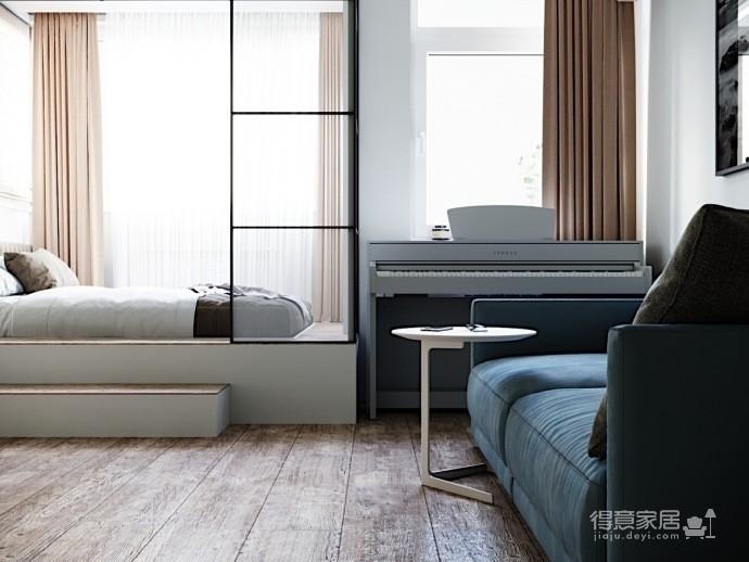 50平活力现代小公寓。图_6