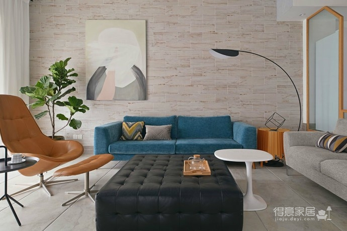 实用北欧大户型设计,让空间归于自然简朴图_3 _客厅
