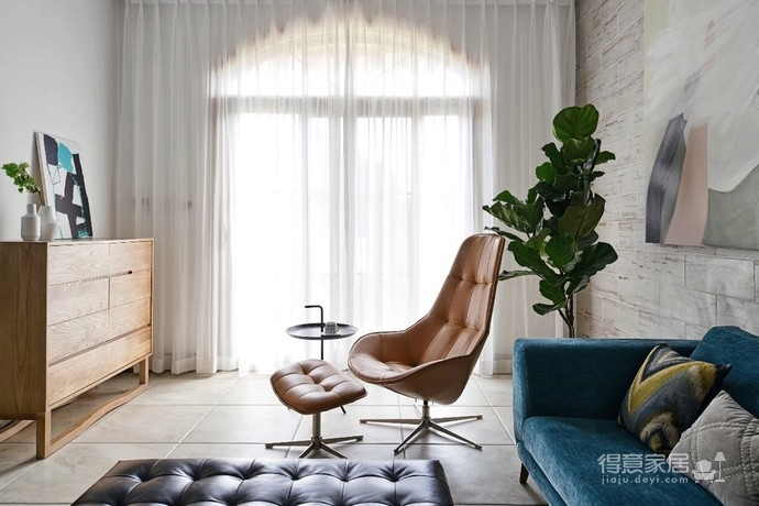 实用北欧大户型设计,让空间归于自然简朴图_2 _客厅
