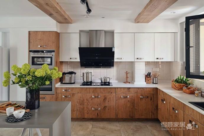 实用北欧大户型设计,让空间归于自然简朴图_7 _厨房