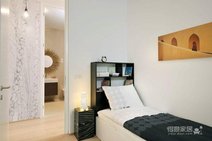 东南亚风格三居室家居设计图赏图_7 _次卧