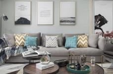 三居室美式风格.图_6