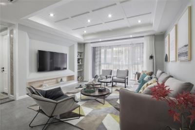 三居室美式风格.