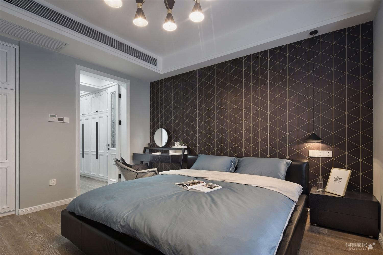 三居室美式风格.图_8