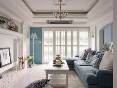 浪漫的地中海风格三居室,一家三口其乐融融