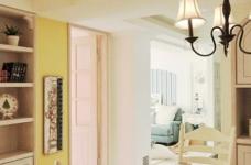 浪漫的地中海风格三居室,一家三口其乐融融图_6