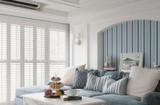 浪漫的地中海风格三居室,一家三口其乐融融图_2