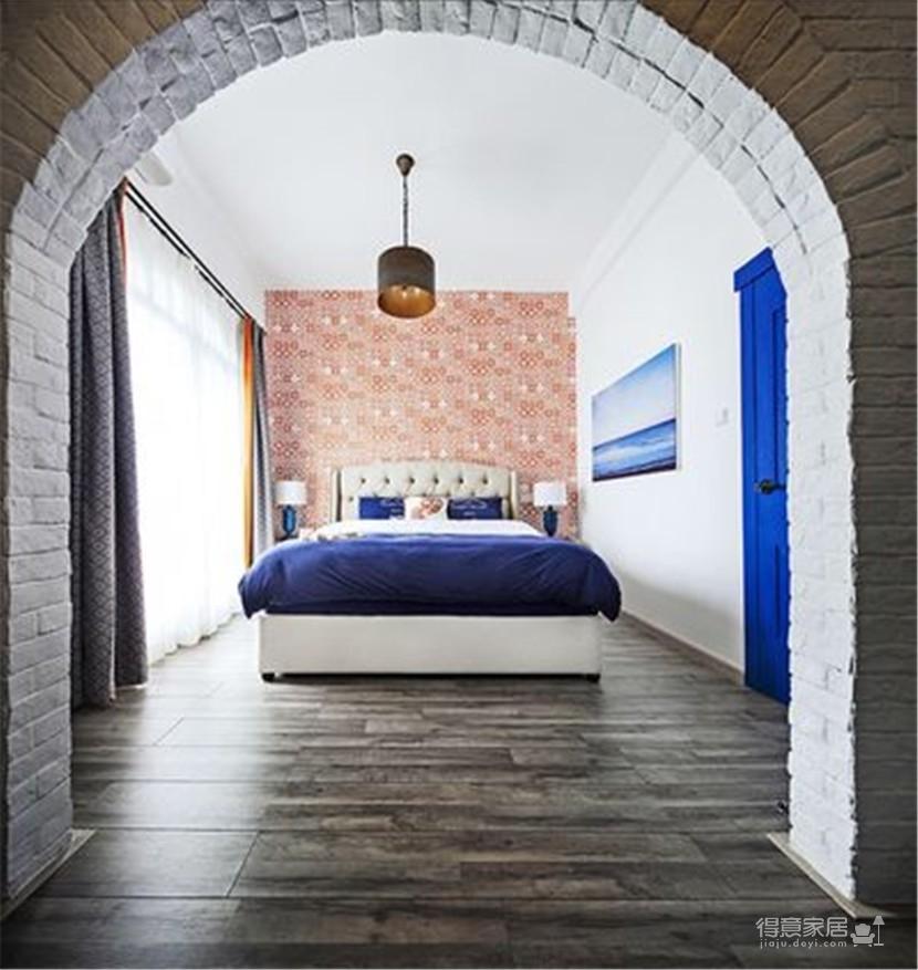 三室里的地中海风格,进门就能闻到海的味道
