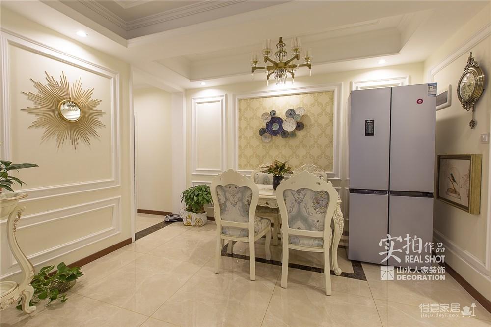 【揽胜公园】117平三室两厅简欧风