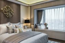日光缓入,享受绿意暖阳幸福空间(港式设计)图_5 _卧室