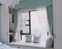 ●卧室里装个小飘窗,每天都有好心情!