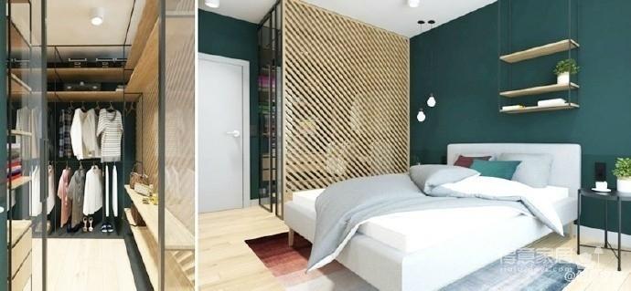 木色系小公寓