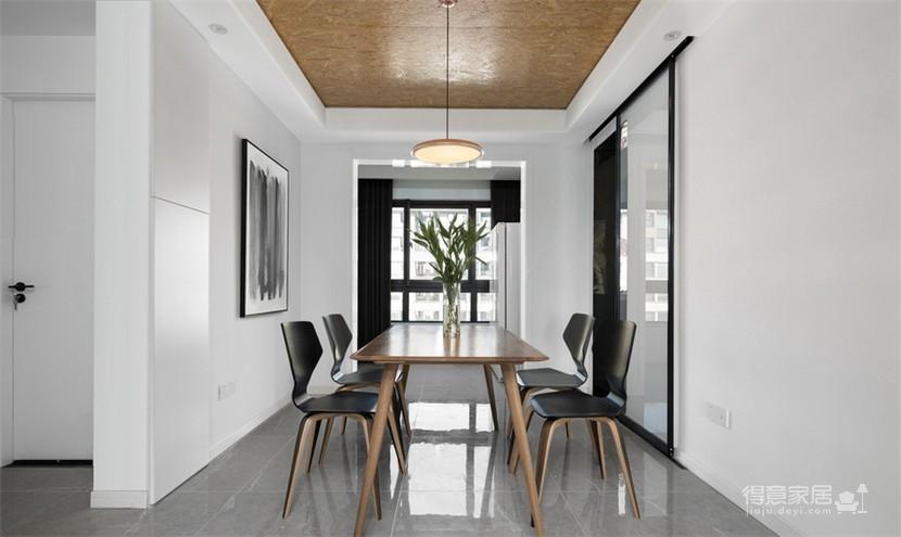 120平现代风三室两厅,以光作画图_8