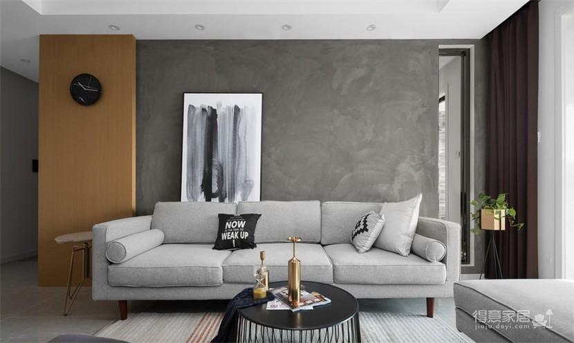 120平现代风三室两厅,以光作画图_3