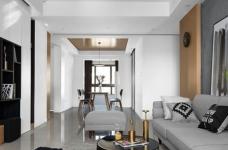120平现代风三室两厅,以光作画图_5