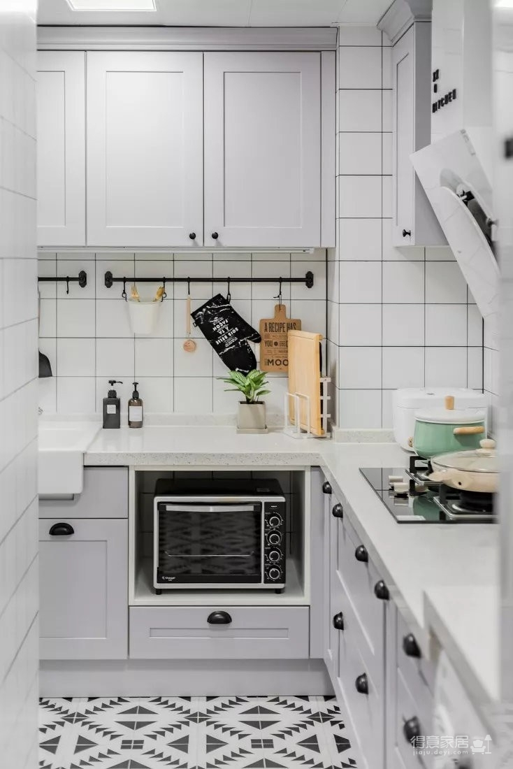 90平方米北欧风格案例图_6 _厨房