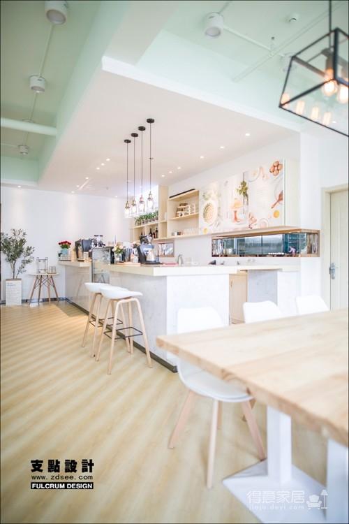 万达环球国际中心 蛋糕店设计——115平北欧