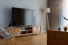 小清新实用型三室一厅精选案例图_3