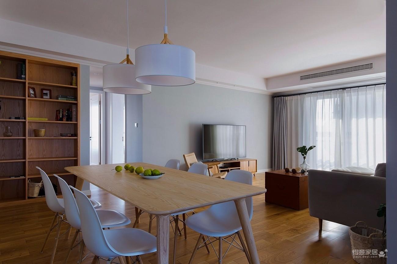 小清新实用型三室一厅精选案例图_6