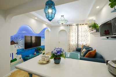清新地中海两居室