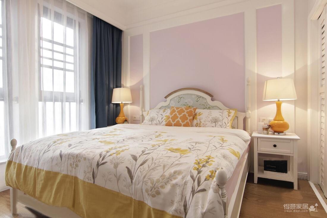 【美式】120平四居室温暖柔和的色彩