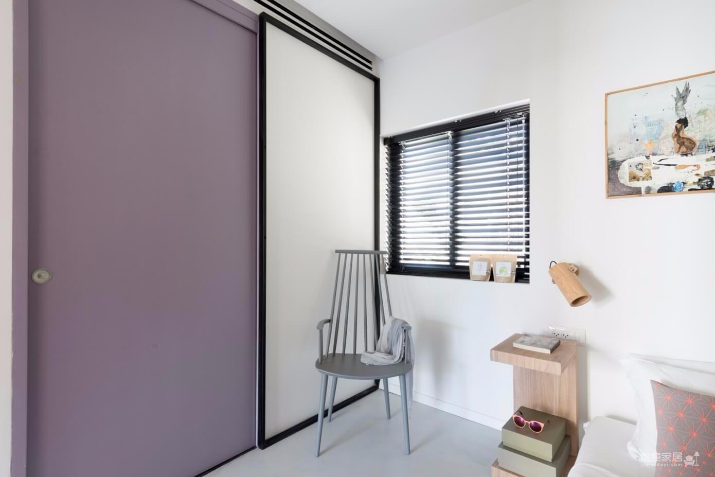 现代美式风格两居室