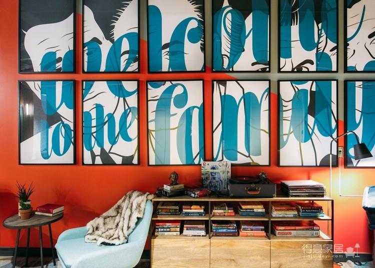 美式风两居室现代感风格图_2