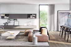 简约风格两居室带浴缸图_3
